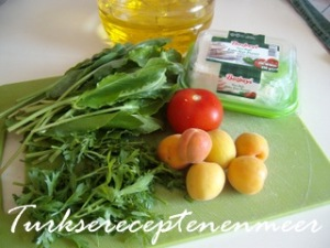 Salade van veldzuring