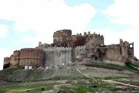 Overblijfselen Hoşap kasteel